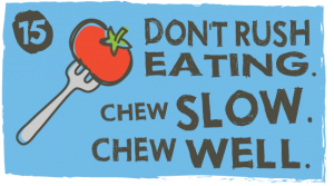 Thin Women Eat Slowly