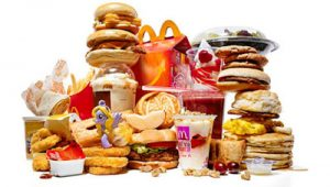 Unhealthy food choices