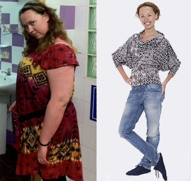 Katie Success story 100 pounds Lighter My Weigh Less